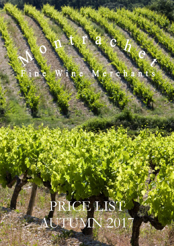 Montrachet Autumn 2017 price list