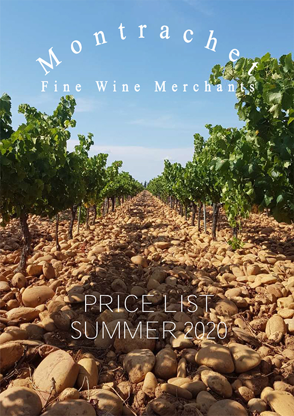 Montrachet Price List - Summer 2020